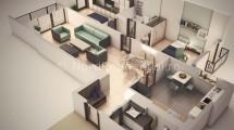 Apartamente 3 Camere Herastrau de Vanzare